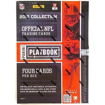 2012 Panini Playbook Football Hobby Box