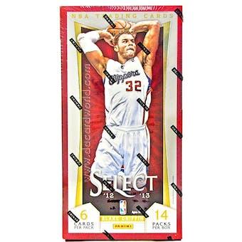2012/13 Panini Select Basketball Hobby Box