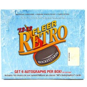 2012/13 Upper Deck Fleer Retro Hockey Hobby Box