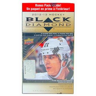 2012/13 Upper Deck Black Diamond Hockey 6-Pack Box