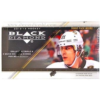 2012/13 Upper Deck Black Diamond Hockey Hobby Box