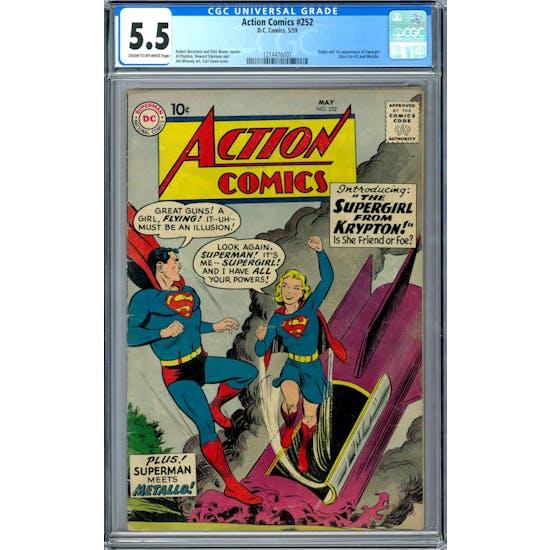 Action Comics #252 CGC 5.5 (C-OW) *1214476001*