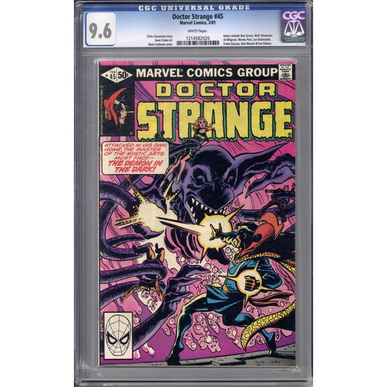 Doctor Strange #45 CGC 9.6 (W) *1214582020*