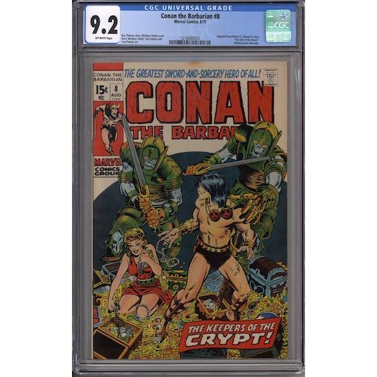 Conan the Barbarian #8 CGC 9.2 (OW) *1216063025*