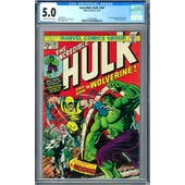 Incredible Hulk #181 CGC 5.0 (OW-W) *1217553001*