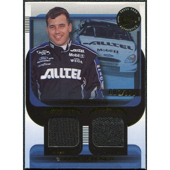 2003 Press Pass Double Burner #DB2 Ryan Newman 2/100 Firesuit Glove