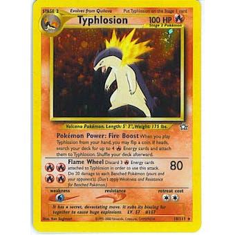 Pokemon Neo Genesis Single Typhlosion 18/111 - NEAR MINT (NM)
