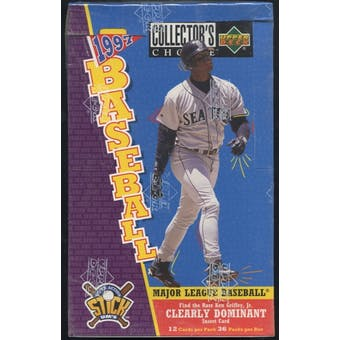1997 Upper Deck Collector's Choice Series 1 Baseball Retail Box