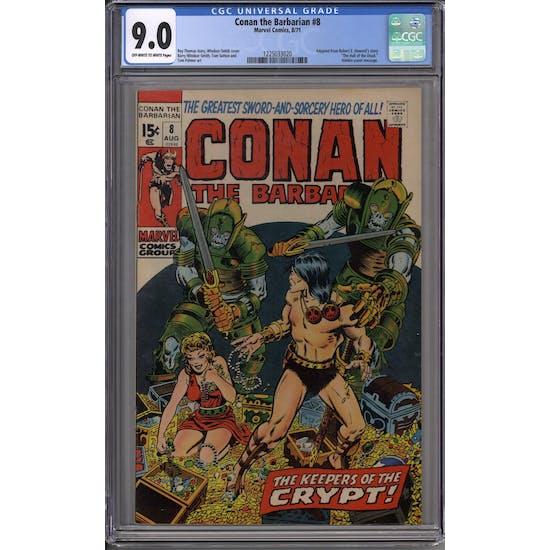 Conan the Barbarian #8 CGC 9.0 (OW-W) *1225033020*