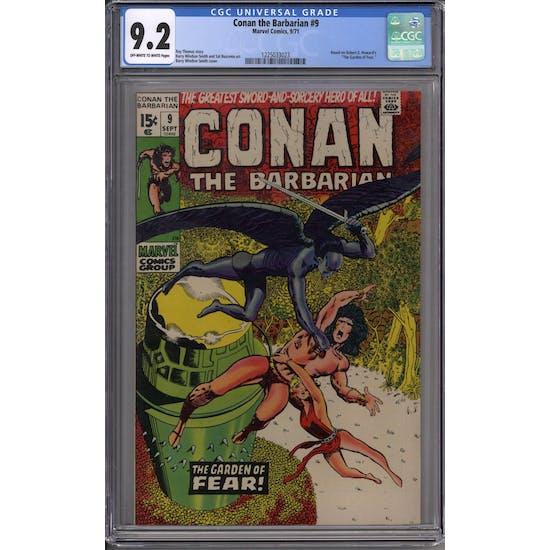 Conan the Barbarian #9 CGC 9.2 (OW-W) *1225033023*