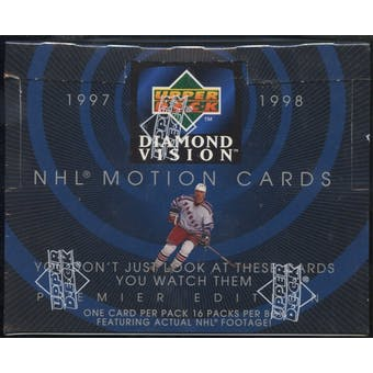 1997/98 Upper Deck Diamond Vision Hockey Retail Box