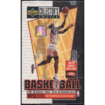 1997/98 Upper Deck Collector's Choice Series 2 Basketball Hobby Box