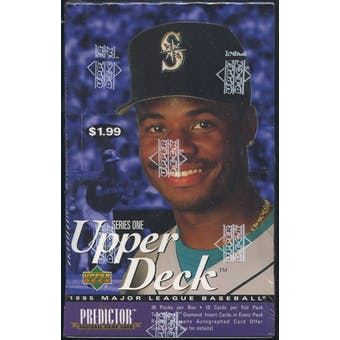1995 Upper Deck Series 1 Baseball Prepriced Box
