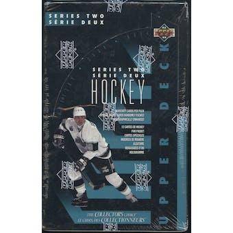 1993/94 Upper Deck Series 2 Hockey French Retail Box