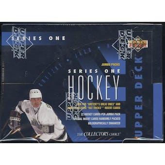 1993/94 Upper Deck Series 1 Hockey Jumbo Box