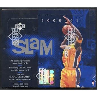 2000/01 Upper Deck Slam Basketball Retail Box