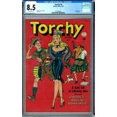 Torchy #6 CGC 8.5 (OW) *1227440002*