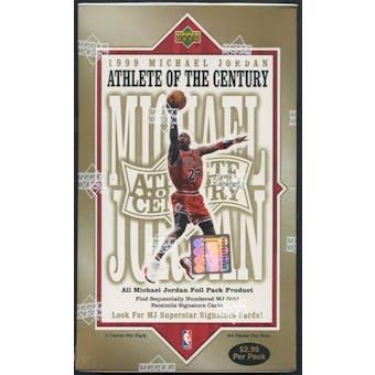 1999/00 Upper Deck Michael Jordan Athlete of the Century Basketball Prepriced Box
