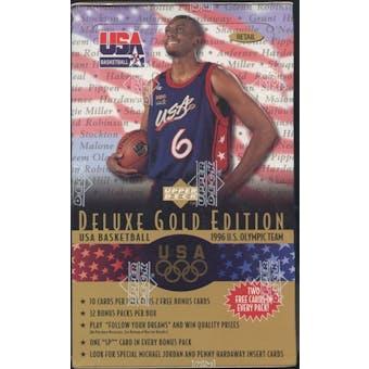 1996/97 Upper Deck USA Gold Edition Basketball Retail Box