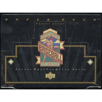 1993 Upper Deck Series 1 Baseball English/French Jumbo Box