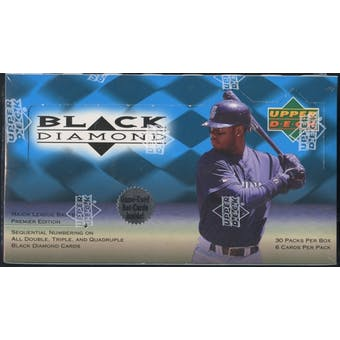 1999 Upper Deck Black Diamond Baseball Retail Box