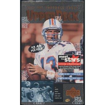 1996 Upper Deck Football Prepriced Box