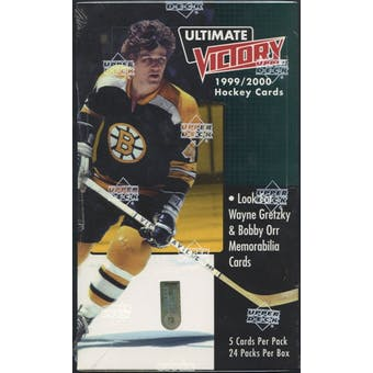 1999/00 Upper Deck Ultimate Victory Hockey Hobby Box