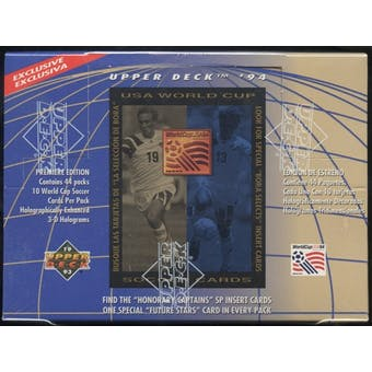 1994 Upper Deck World Cup English/Spanish Soccer Retail Box