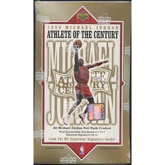 1999/00 Upper Deck Michael Jordan Athlete of the Century Basketball Retail Box