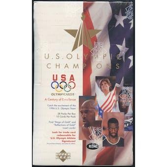 1996 Upper Deck U.S. Olympic Champions Retail Box