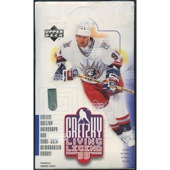 1999/00 Upper Deck Gretzky Living Legends Hockey Retail Box
