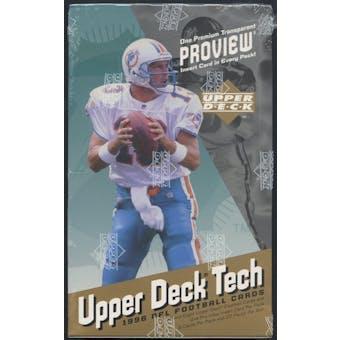 1996 Upper Deck Proview Football Hobby Box