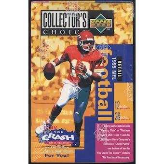 1995 Upper Deck Collector's Choice Football Retail Box
