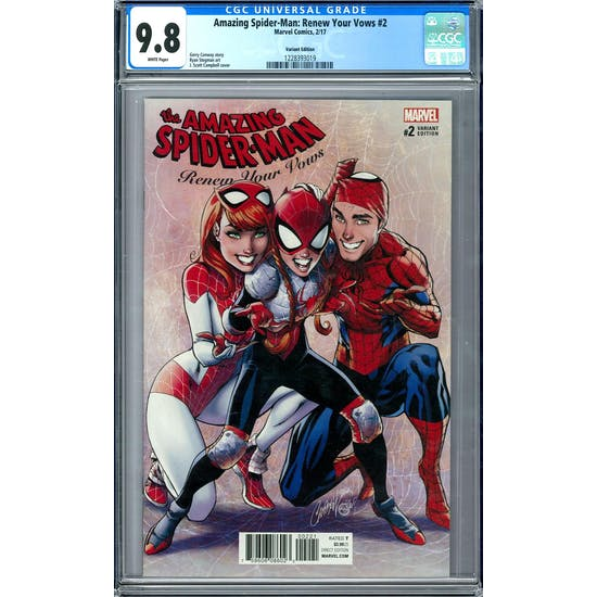 Amazing Spider-Man: Renew Your Vows #2 CGC 9.8 (W) Variant *1228393019*