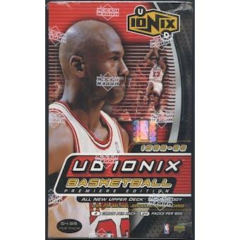 1998/99 Upper Deck Ionix Basketball Prepriced Box