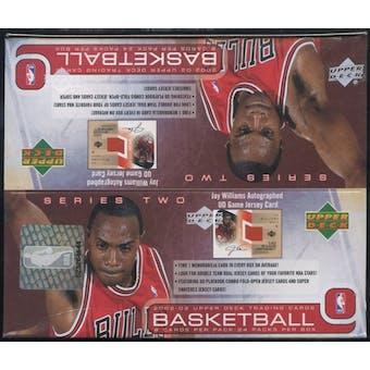 2002/03 Upper Deck Series 2 Basketball Retail Box