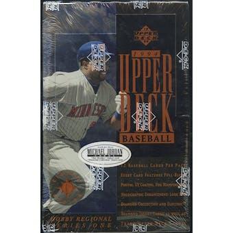 1994 Upper Deck Series 1 Central Baseball Hobby Box