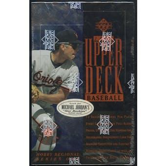 1994 Upper Deck Series 1 Eastern Region Baseball Hobby Box