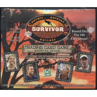 2001 Upper Deck Survivor: The Australian Outback Booster Box