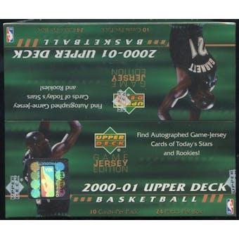 2000/01 Upper Deck Series 2 Basketball Retail Box