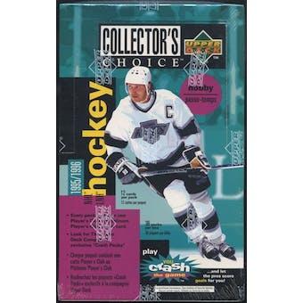 1995/96 Upper Deck Collectors Choice Single Series Hockey Hobby Box