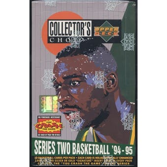 1994/95 Upper Deck Collector's Choice Series 2 Basketball Retail Box