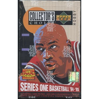 1994/95 Upper Deck Collector's Choice Series 1 Basketball Hobby Box