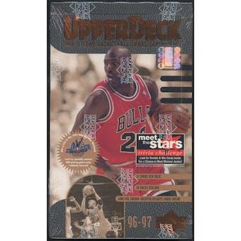 1996/97 Upper Deck Series 1 Basketball Retail 20-Pack Box