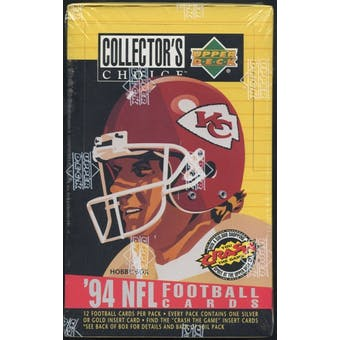 1994 Upper Deck Collector's Choice Football Hobby Box