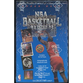 1992/93 Upper Deck Low # Basketball Retail Box