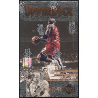 1996/97 Upper Deck Series 2 Basketball Retail 36-Pack Box