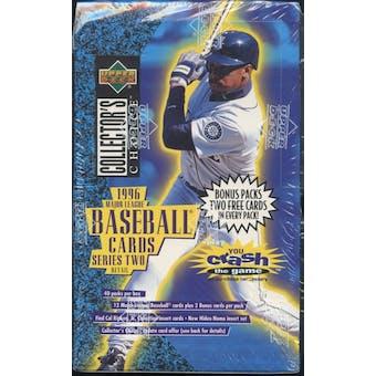 1996 Upper Deck Collector's Choice Series 2 Baseball Retail Box