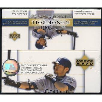 2002 Upper Deck Honor Roll Baseball Retail Box
