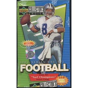 1997 Upper Deck Collector's Choice Series 1 Football Retail Box
